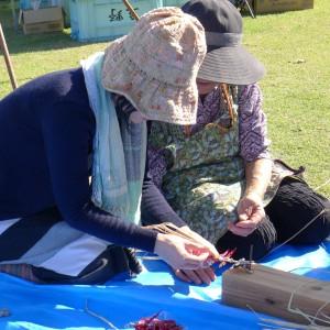 唐辛子の編み方
