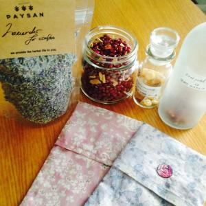 PAYSANのラベンダー、小豆、フランキンセンス、バラ