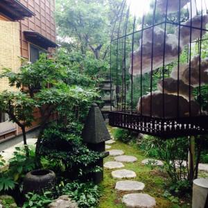 崇禅寺の風の通るお庭