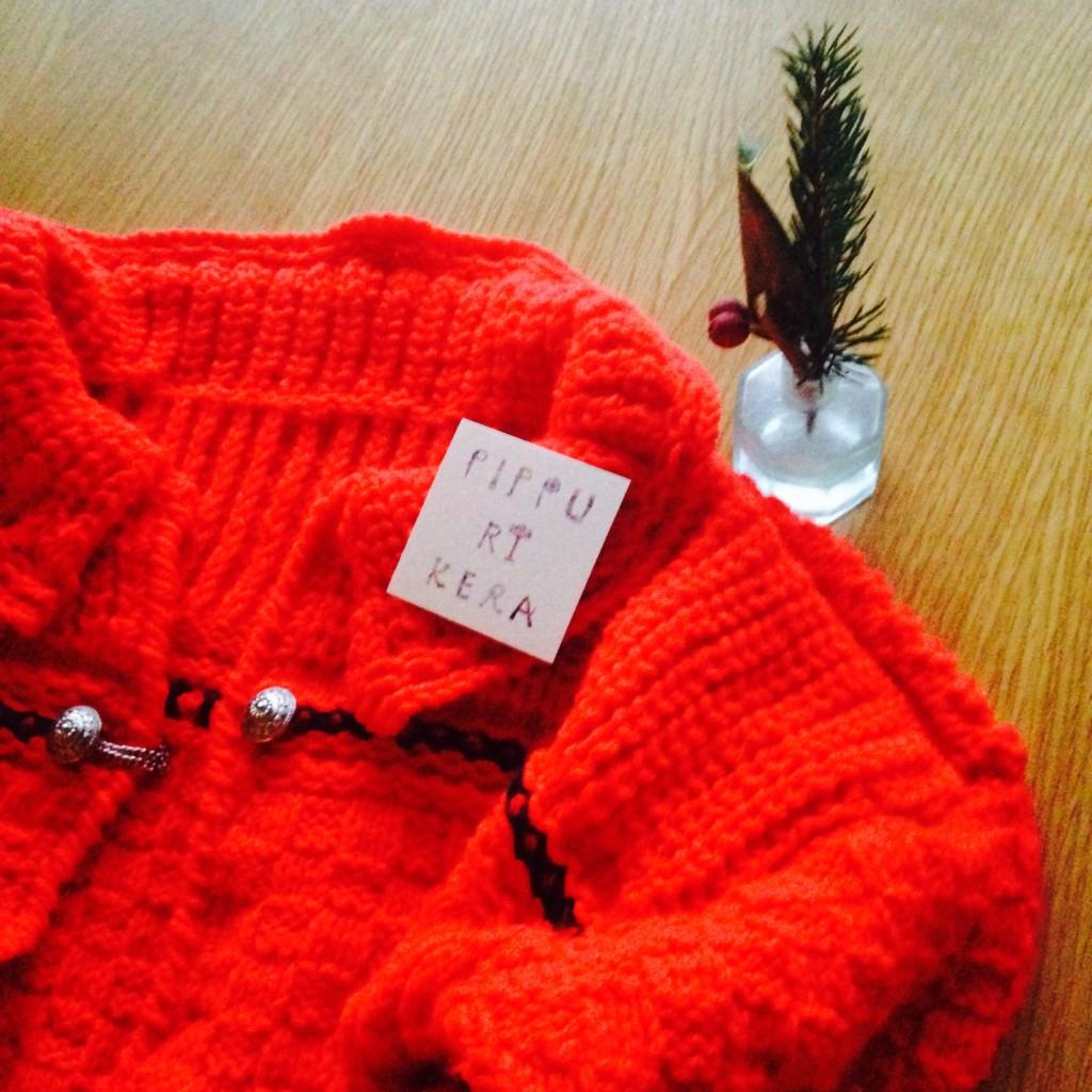 ピップリケラのセーター